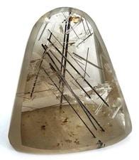 Le quartz rutile (ou quartz rutilé) : un exemple de cristal de roche avec inclusions