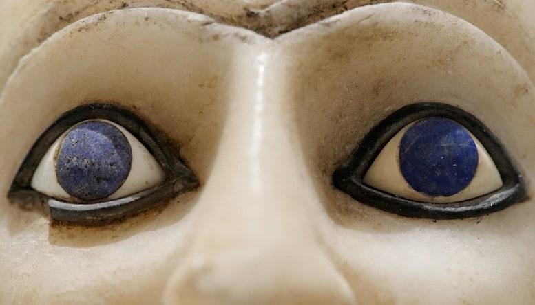 """Le Lapis Lazuli, """"Pierre des Pharaons"""", fut très prisée en Egypte"""