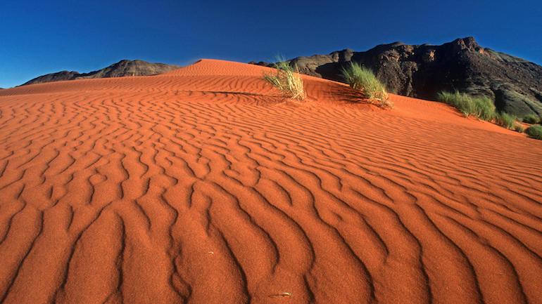 Paysage en Namibie
