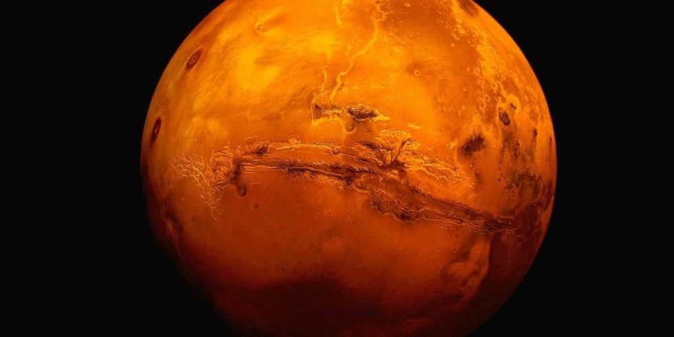 Sur Mars, on trouve de l'hématite en abondance
