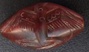 Médaille en cornaline - Aigle enlevant un héron, antique civilisation crétoise minoenne – 2000 env av. JC