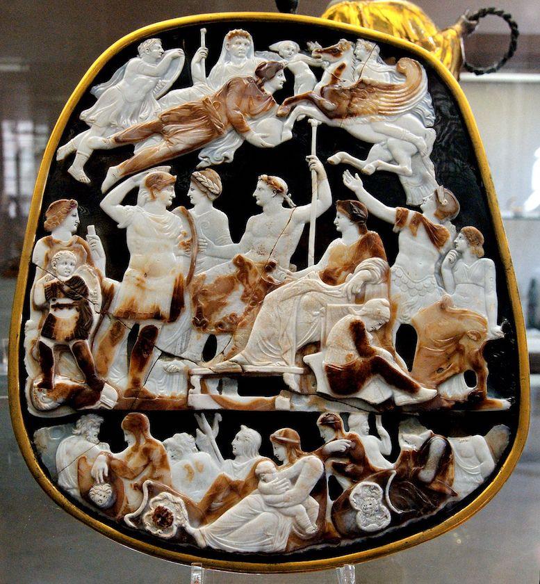 L'Apothéose d'Auguste ou camée de la Sainte-Chapelle