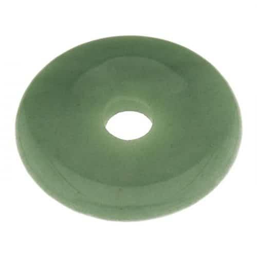 Donut en Aventurine Verte