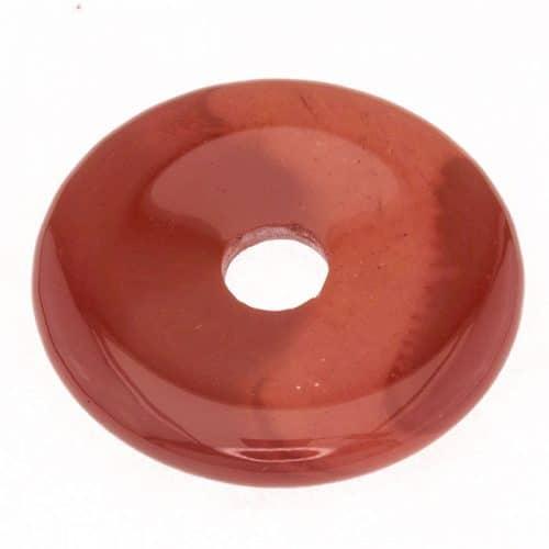 Donut en Jaspe Mokaïte Rouge
