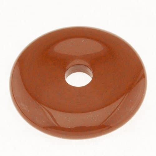 Donut en Jaspe Rouge
