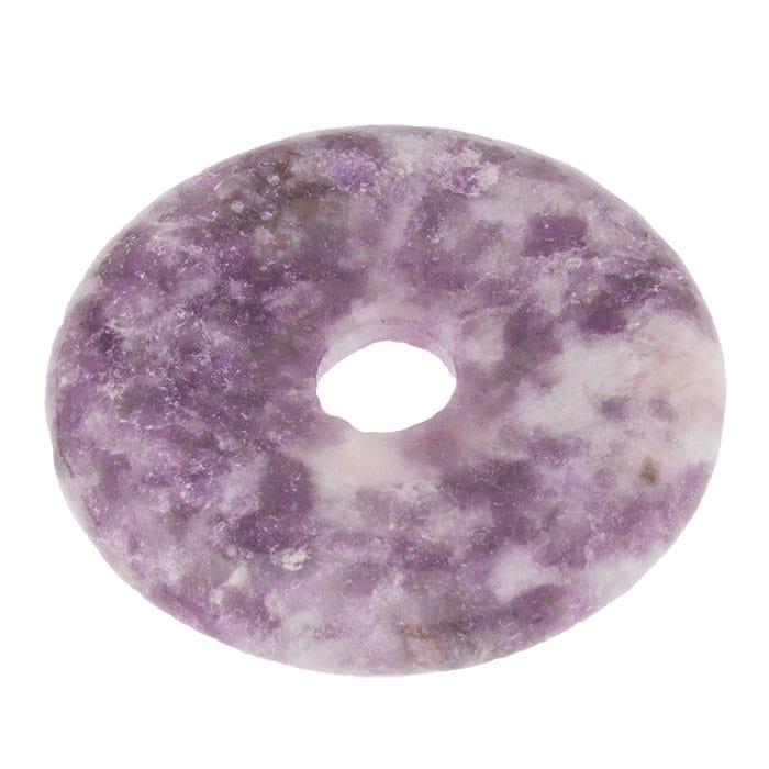 Donut en Lépidolite Violette