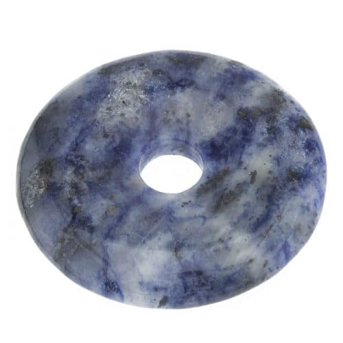 Donut en Quartz Bleu