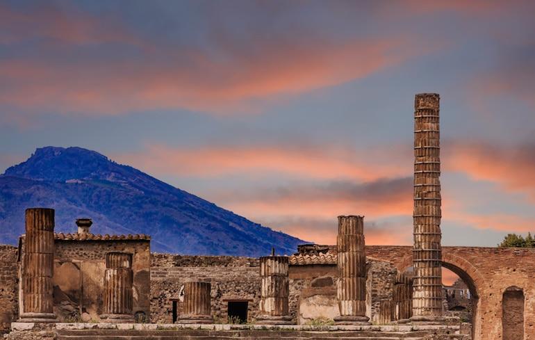 Les Romains de l'Antiquité connaissaient la Sodalite du Vésuve, près de Pompéi