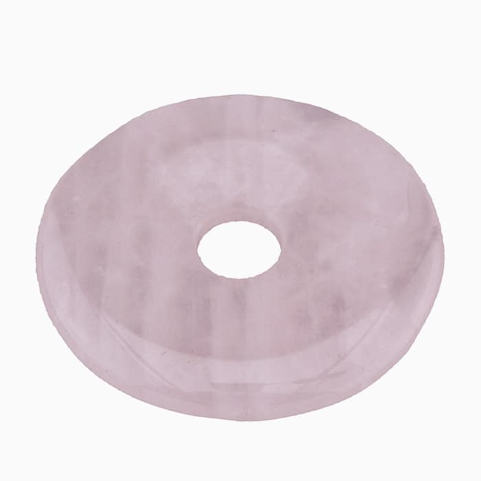Donut en Quartz Rose