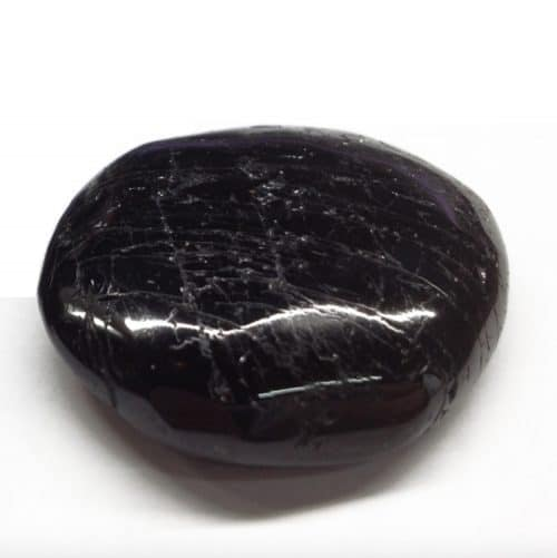 Tourmaline Noire - Pierre Plate |Lithothérapie en Ligne