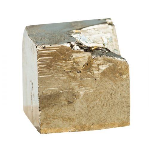 Pyrite Cube - Pierre Brute |Lithothérapie en Ligne