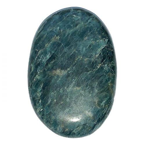 Apatite Verte - Pierre Plate | Boutique de Minéraux | Lithothérapie en Ligne