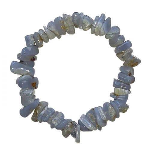 Bracelet Baroque en Calcédoine   Boutique de Minéraux